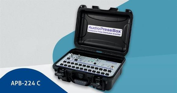 AudioPressBox for professional press conferences