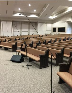 Digital Pro Sound Installs Audix® Mics  in the Ark of Salvation Church