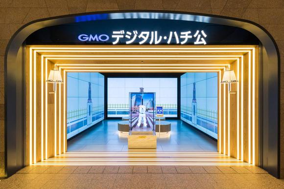 Barco brings GMO Digital Hachiko to life at meeting spot in Shibuya