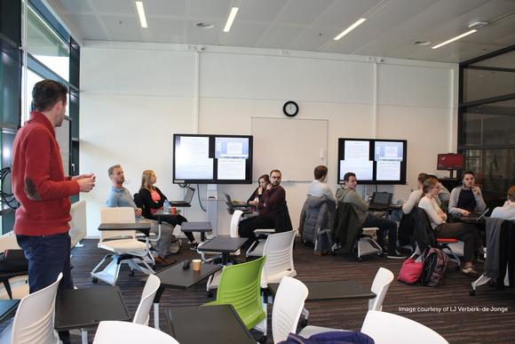 Barco weConnect shapes the future of education at Radboud University