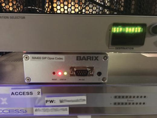 Barix created a revolutionary SIP Opus transport platform for iHeartRadio