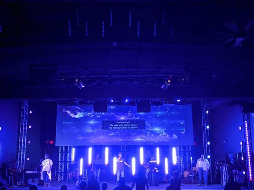 Blended Optoma Projectors Deliver Ultra-wide Images to House of Worship