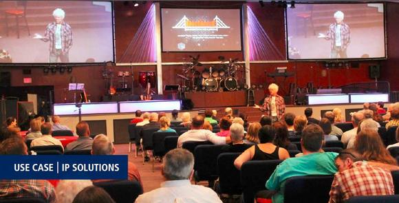 VITEC IP Solution Brings Worshippers Together at The Bridge Christian Church