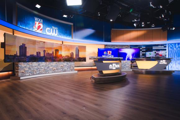 WXII Illuminates News Set with Brightline LED