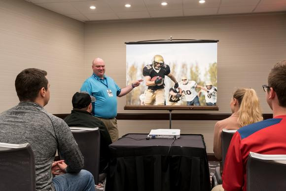 Collegiate Video Coordinators Choose Casio LampFree Projectors for Game Film