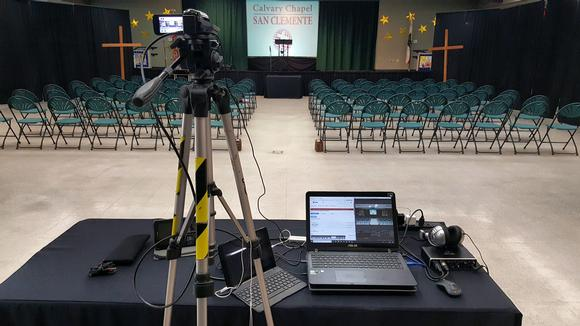 Calvary Chapel San Clemente Expands its Ministry through Streaming with Magewell USB Capture HDMI