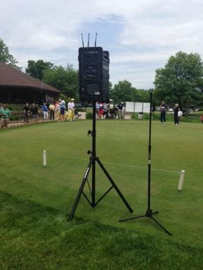 AmpliVox Brings Outstanding Sound Coverage to Golf Outing Fundraiser
