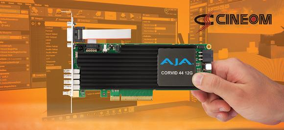 Cineom Delivers Custom Real-Time Virtual Production Solutions  Powered by AJA Corvid I/O Cards