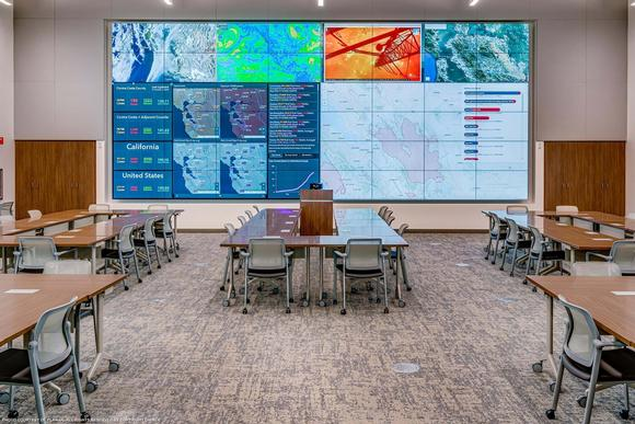 Contra Costa County Emergency Operations Center