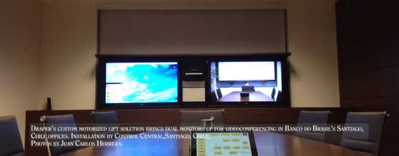 Custom Lift Rescues Video Conferencing Space