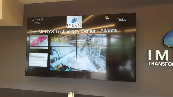 PureLink Case Study: Corporate Digital Signage at Imerys