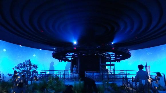 Barco - Science City - A breathtaking 360-degree view on human evolution