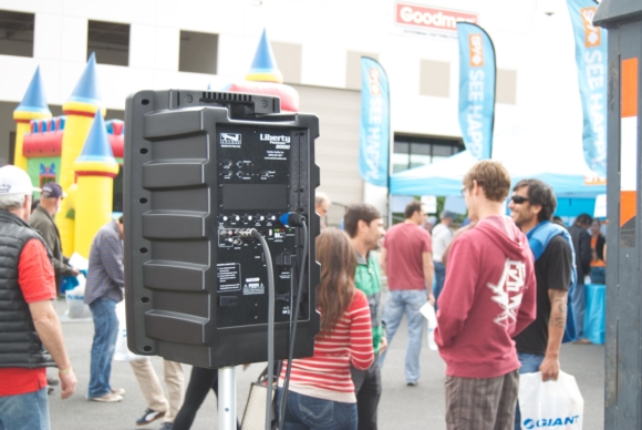 Anchor Audio - CASE STUDY: Portable Sound Coverage for a Live Event