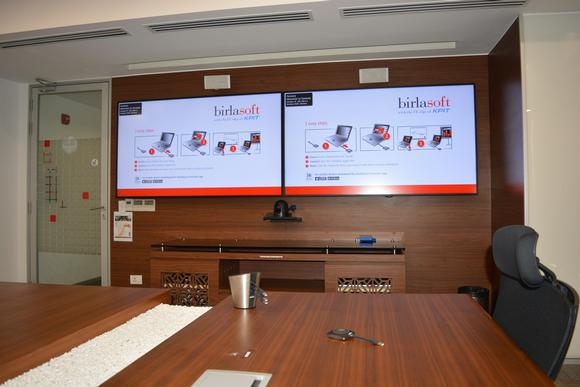 Barco ClickShare and wePresent bring peace of mind to Birlasoft meetings