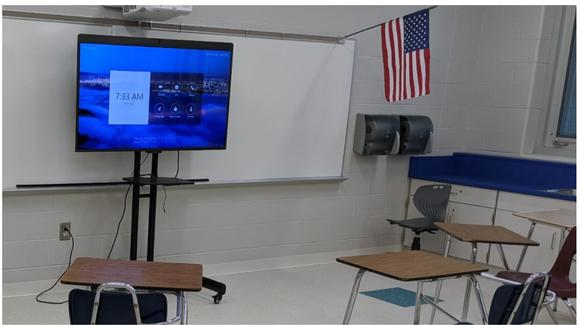 North Ridgeville City Schools Provide Easy Virtual Classrooms With DTEN & ZOOM