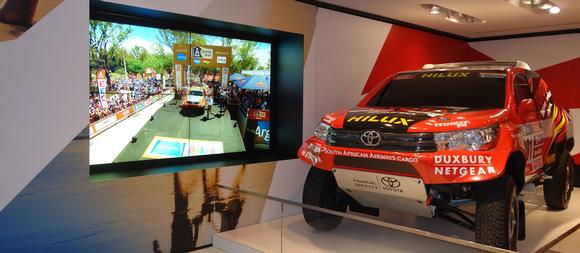 Datapath Fx4 controllers enhance Toyota's flagship Champs-Elysees showroom experience