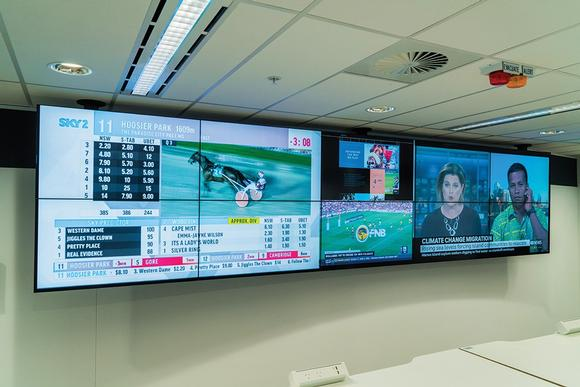 Datapath powers three video walls at Australian betting giant, Tabcorp