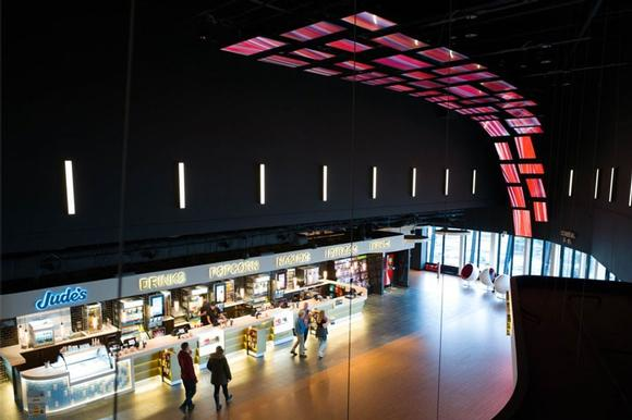 Datapath technology at the heart of cinema's curved flying video wall