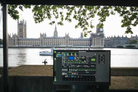 Datapath helps Motion Mapping project NHS message onto Parliament