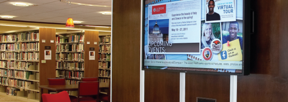 A Lesson on Effective Campus Communication with Digital Signage
