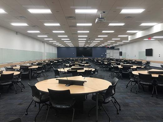 Florida International University has created some amazing Large Capacity Active Learning Classrooms