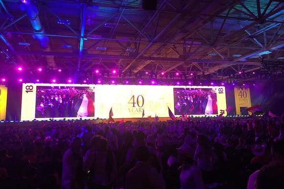 Nutrition & Cosmetics Company - Global Gathering and Anniversary
