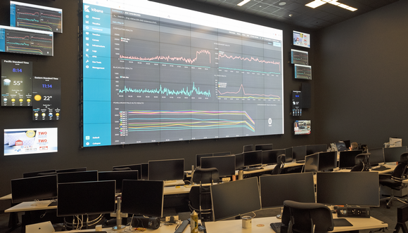 Fishtech's massive video wall brings information to life