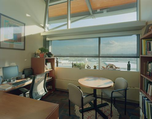 Shades Reduce Glare in LEED® Platinum Certified Building