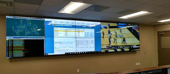 Flexible video wall solution puts the power in the hands of operators at Alabama's Pea River Electric Cooperative