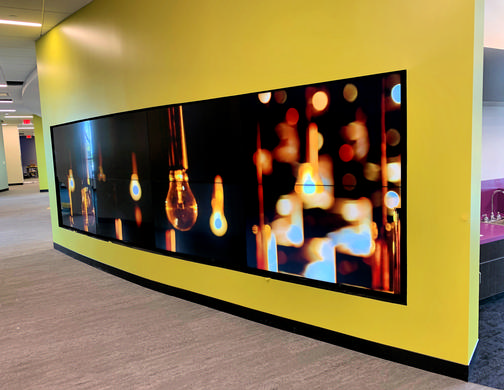 Engaging Digital Displays at the Newly-Built Sherlock Elementary School