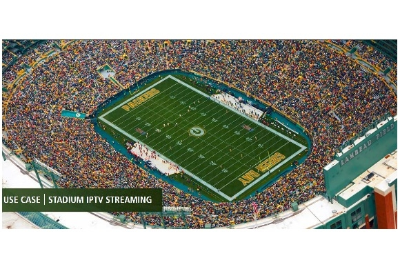 Green Bay Packers Select VITEC's IPTV Streaming Video Solution for Lambeau Field