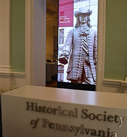 NEC Display: Historical Society of Pennsylvania