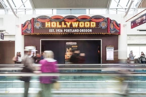 Hollywood Theater at Portland International Airport