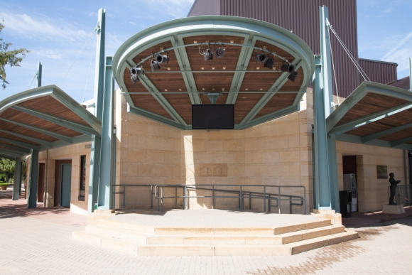 Miller Outdoor Theatre Takes the Leap to Digital Signage Displays with Peerless-AV