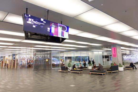 Montréal Convention Center Conquers Digital Signage Mounting Challenges with Peerless-AV Custom Mounts