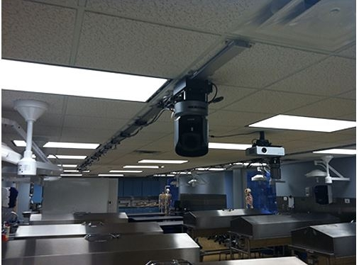 Indiana State University Employs Telemetrics Camera Track System for Medical Education