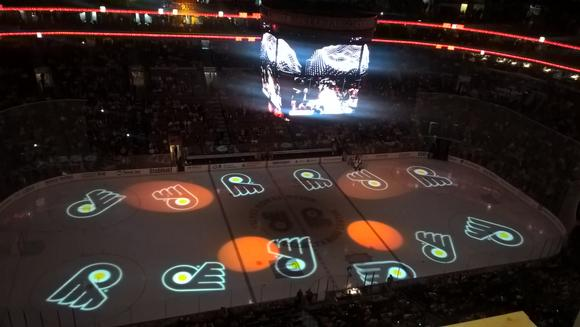 PureLink Case Study: On Ice Video Projection at Wells Fargo Center