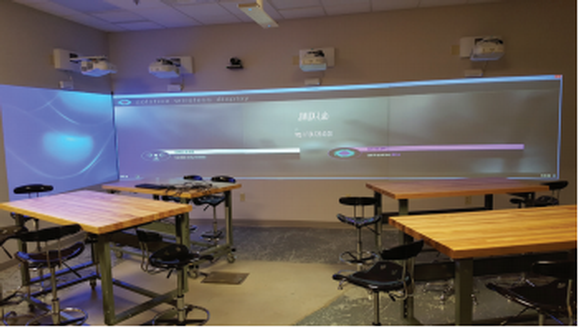 BrightLink Pro Interactive Displays Support Student Collaboration at JMU X-Labs