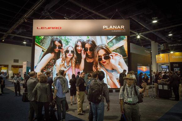 Planar TWA Series  8K LED Video Wall 2016 National Association