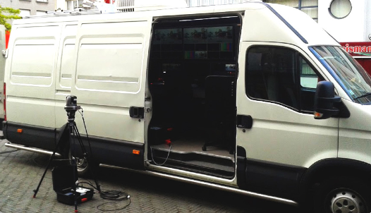 Lumens VC-G50 Serves as Centerpiece of Custom-Built, Broadcast Van