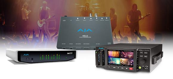 AJA Gear Helps Freelance Technical Director Lutz Conneus Adapt to Client AV Demands
