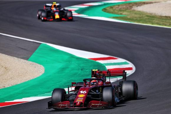 Marshall Captures all the Heart Stopping, Adrenaline Pumping Formula 1 Racing Action at Ferrari's Italian Mugello Circuit