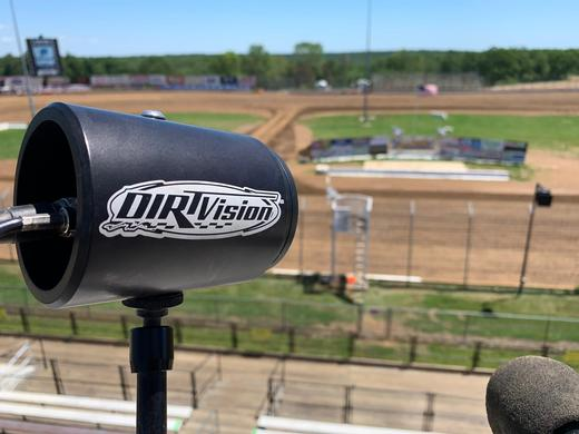 Marshall CV506 Goes Trackside to Capture all the Heart Pounding,  High Speed Action for Premier Dirt Racing Broadcast Provider, DIRTVision