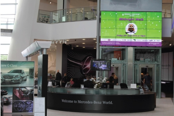 LG Chooses Peerless-AV® for Major Display Refresh at Automotive Brand's Experience Centre