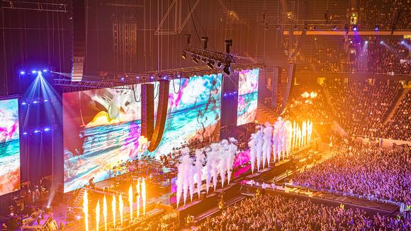 Meyer Sound and Bright Group Support Memorable Avicii Tribute Concert with Massive LEO Family System