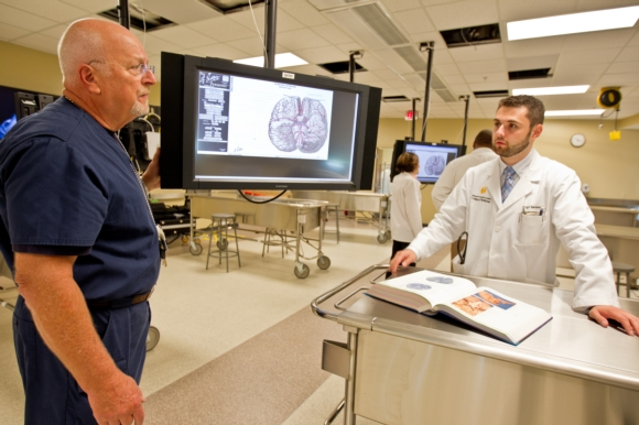 University of Central Florida's College of Medicine Students Use  Revolutionary Technology in Anatomy Lab
