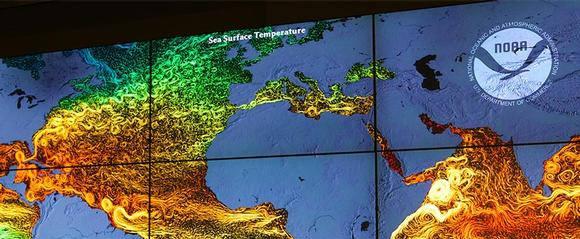 NOAA Enables Real-Time Collaboration with Comprehensive Video Wall and Control Solution