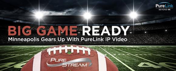PureLink Case Study: VIP/VPX System Super Charges A/V Distribution at the Minneapolis Armory