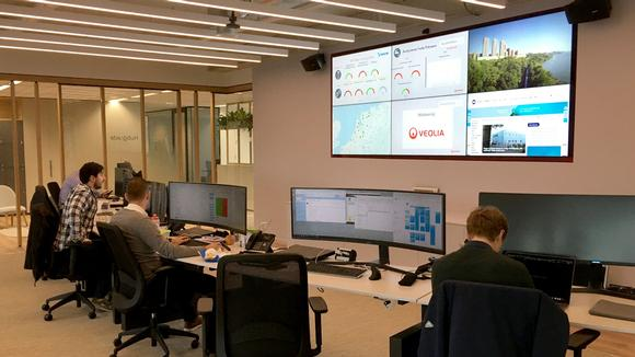 Optimized Resource Management Leader is Seeing Green with Matrox-Powered Video Wall