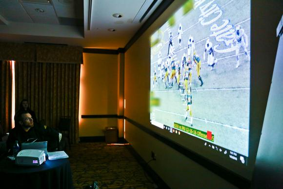 Touchdown! North Dakota State University Upgrades Football Team's Technology with Optoma Projectors